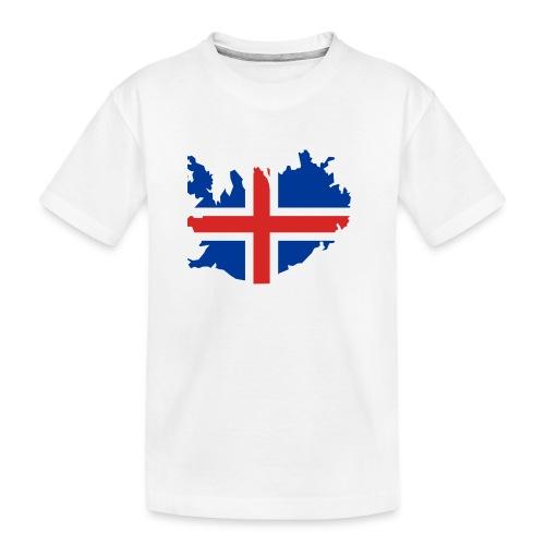 Iceland - Teenager premium biologisch T-shirt