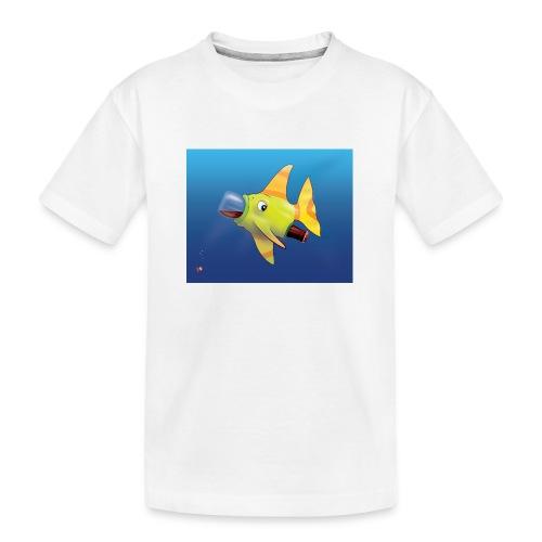 Greedy Fish - T-shirt bio Premium Ado