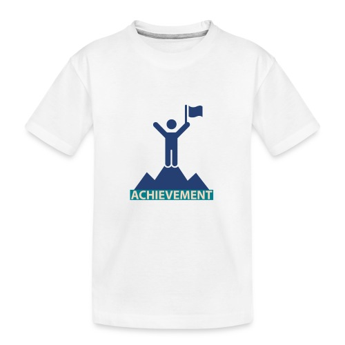 Typo Achivement by CloudMonde - Teenager Premium Organic T-Shirt