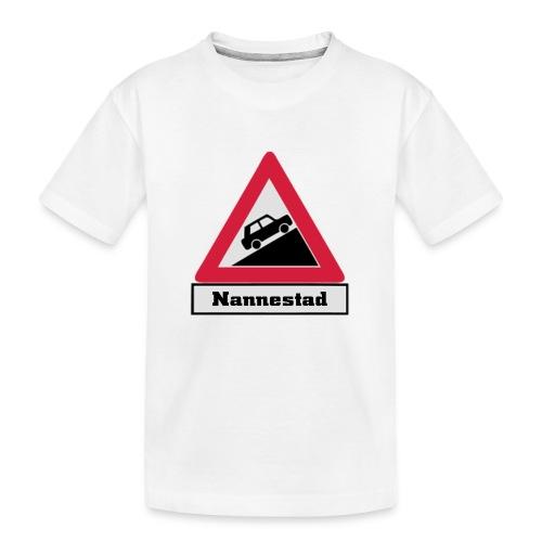 brattv nannestad a png - Premium økologisk T-skjorte for tenåringer