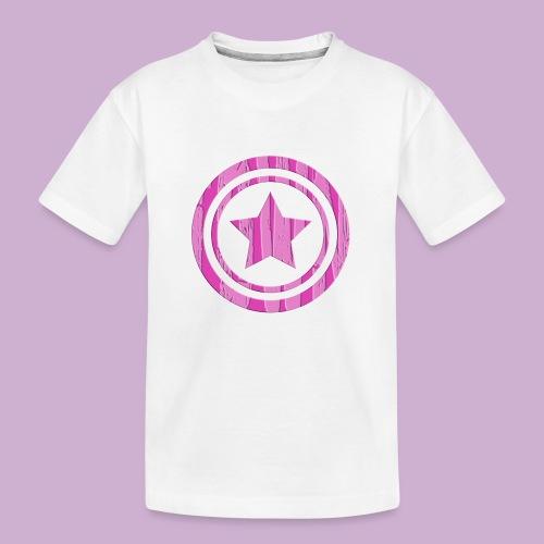 STERN IM KREIS - Teenager Premium Bio T-Shirt