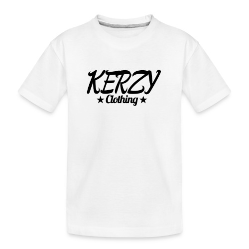 Official KerzyClothing T-Shirt Black Edition - Teenager Premium Organic T-Shirt