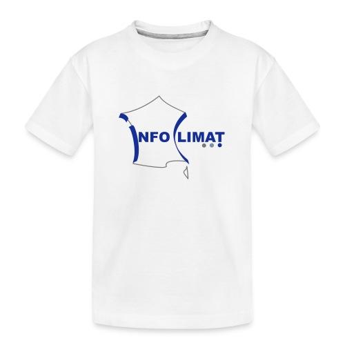 logo simplifié - T-shirt bio Premium Ado