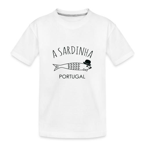 A Sardinha - Portugal - T-shirt bio Premium Ado