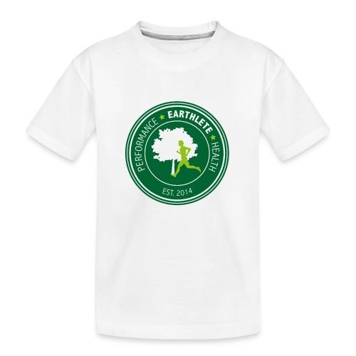 EARTHLETE Brand Logo - Teenager premium T-shirt økologisk