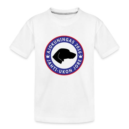 Ajokuningas t-paita - Teinien premium luomu-t-paita