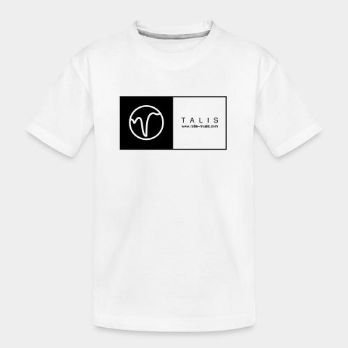 TALIS (2Quadrate) - Teenager Premium Bio T-Shirt