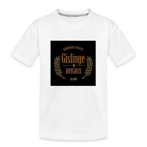 Sort logo 2017 - Teenager premium T-shirt økologisk