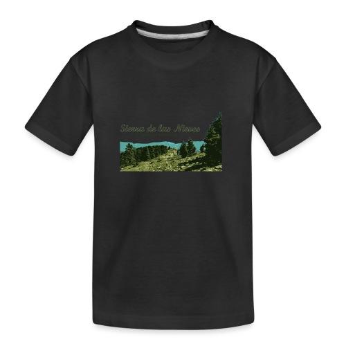Sierra de las Nieves Parque Nacional - Camiseta orgánica premium adolescente