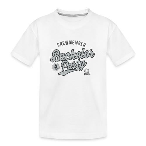Vrijgezellenfeest Crew grijs - Teenager premium biologisch T-shirt