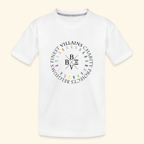 BVBE Charity Projects - Teenager Premium Organic T-Shirt