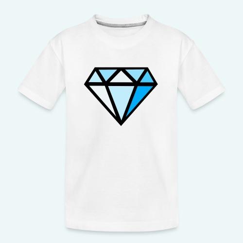 FCTimantti logo ilman tekstia - Teinien premium luomu-t-paita