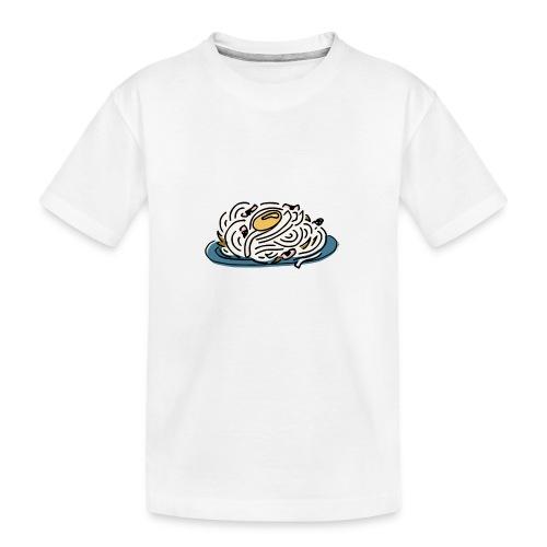 Pâtes Carbonara - T-shirt bio Premium Ado
