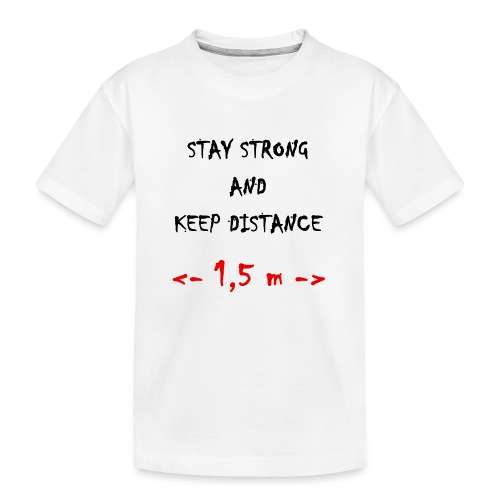Fight COVID-19 #9 - Teenager Premium Bio T-Shirt