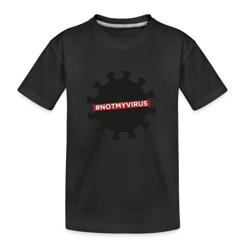 NotMyVirus black - T-shirt bio Premium Ado