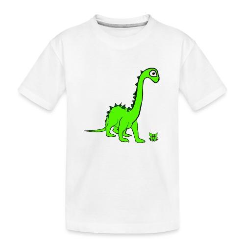 dinosauro - Maglietta ecologica premium per ragazzi