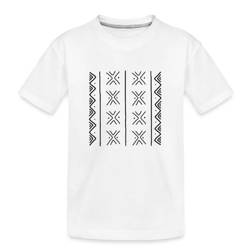 mudcloth-bogolan - T-shirt bio Premium Ado