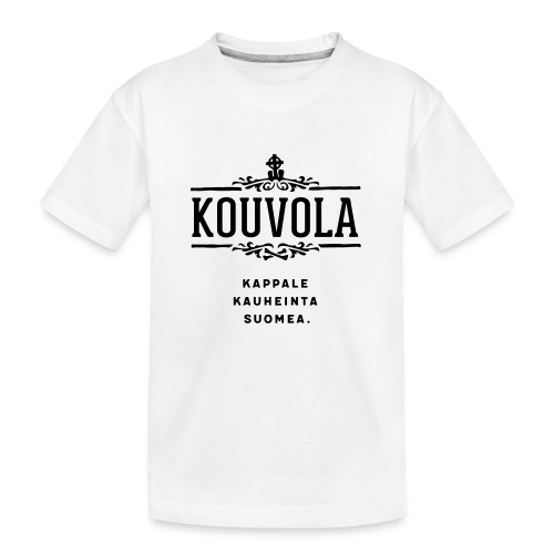 Kouvola - Kappale kauheinta Suomea. - Teinien premium luomu-t-paita