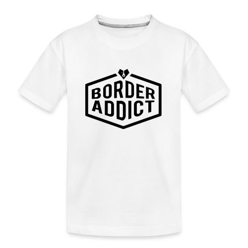 Border Addict - T-shirt bio Premium Ado