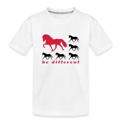 be different - Teenager Premium Bio T-Shirt