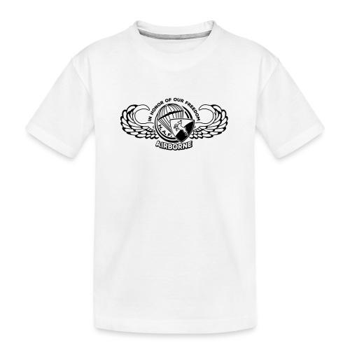 HAF tshirt back2015 - Teenager Premium Organic T-Shirt