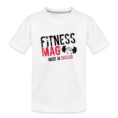 Fitness Mag made in corsica 100% Polyester - T-shirt bio Premium Ado