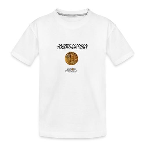 Cryptomaniac - Maglietta ecologica premium per ragazzi