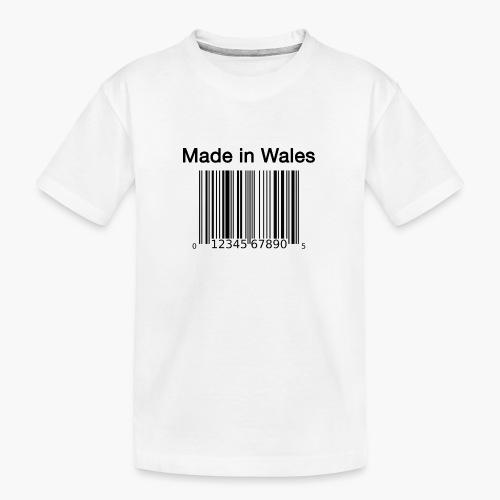 Made in Wales - Teenager Premium Organic T-Shirt