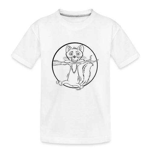 barfüßiger Baummarder - Teenager Premium Bio T-Shirt