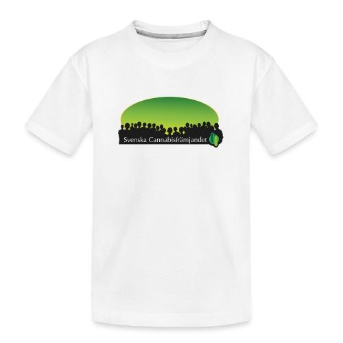 Svenska Cannabisfrämjandet - Ekologisk premium-T-shirt tonåring