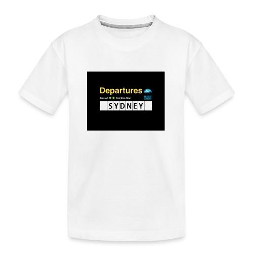 SYDNEY png - Maglietta ecologica premium per ragazzi
