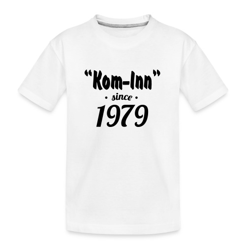 Kom inn since 1979 - Teenager premium biologisch T-shirt