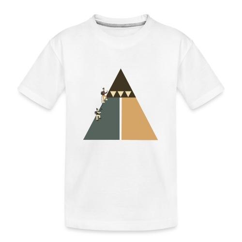 Eiskletterer - Teenager Premium Bio T-Shirt