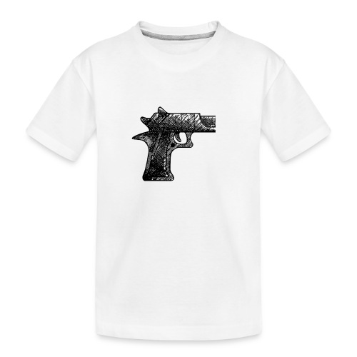 Pipa png - Teenager premium biologisch T-shirt