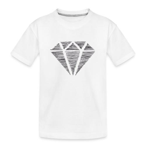 Diamante - Camiseta orgánica premium adolescente