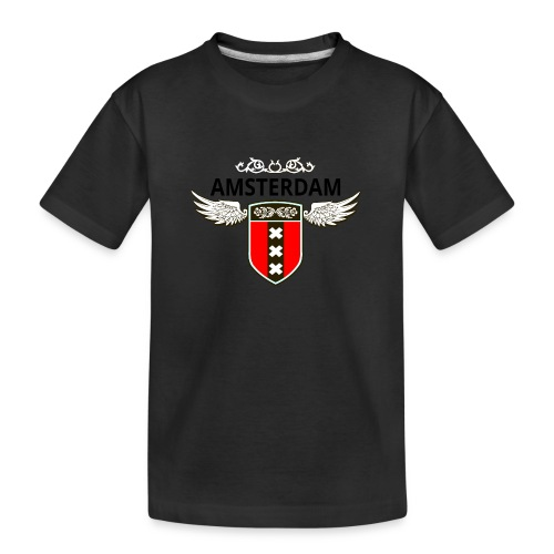 Amsterdam Netherlands - Teenager Premium Bio T-Shirt