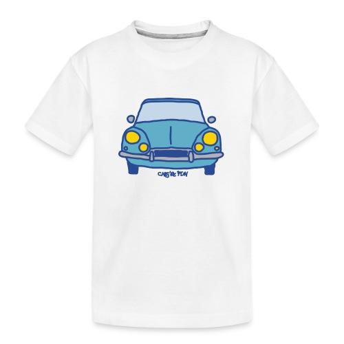 Voiture ancienne mythique française - T-shirt bio Premium Ado