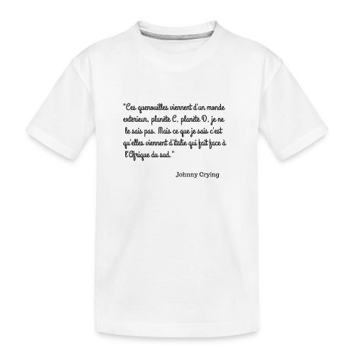 LES QUENOUILLES - T-shirt bio Premium Ado