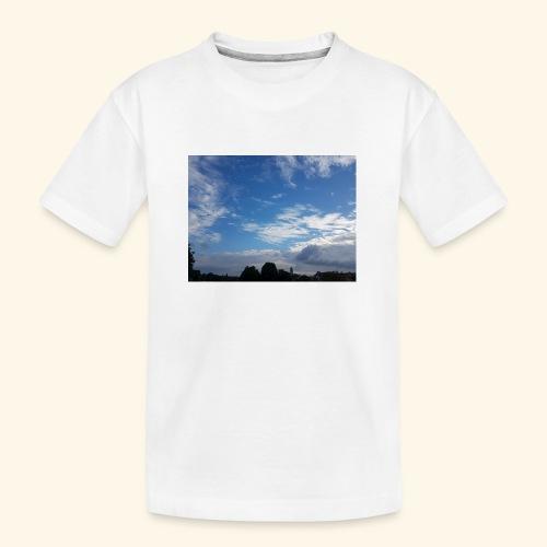 himmlisches Wolkenbild - Teenager Premium Bio T-Shirt