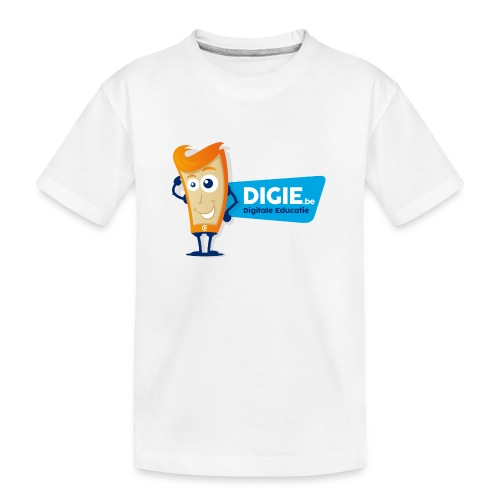 Digie.be - Teenager premium biologisch T-shirt