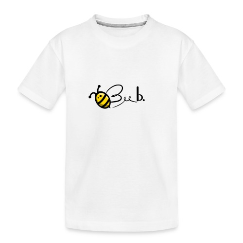 Bee b. Logo - Teenager Premium Organic T-Shirt