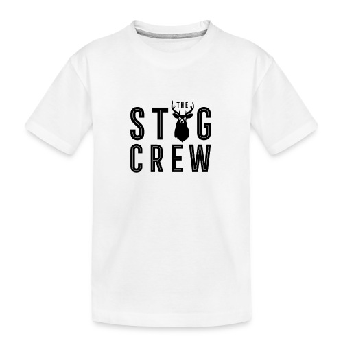 THE STAG CREW - Teenager Premium Organic T-Shirt