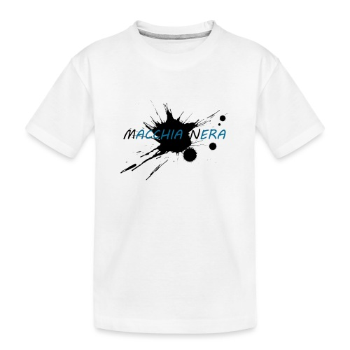 Macchia Nera - Maglietta ecologica premium per ragazzi