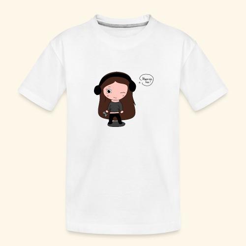 tee-shirt dessin Fan art - T-shirt bio Premium Ado