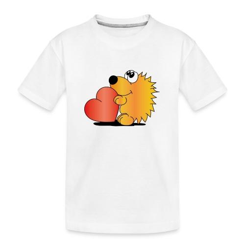 Igelchen - Teenager Premium Bio T-Shirt