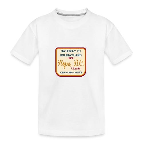 Rambo Hope Holidayland - Ekologiczna koszulka młodzieżowa Premium