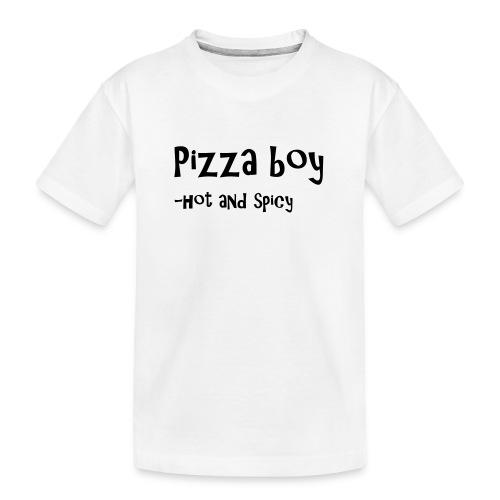 Pizza boy - Premium økologisk T-skjorte for tenåringer