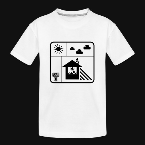 Happy White Balance - Teenager Premium Bio T-Shirt