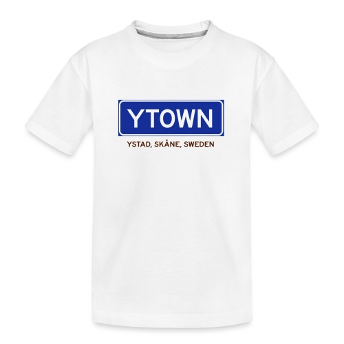 Ystad, Badly Translated - Ekologisk premium-T-shirt tonåring