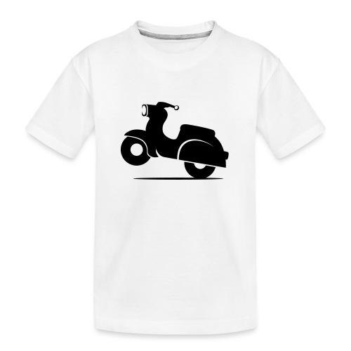 Schwalbe knautschig - Teenager Premium Bio T-Shirt